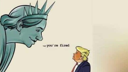 Trump tabte på sit sprogbrug